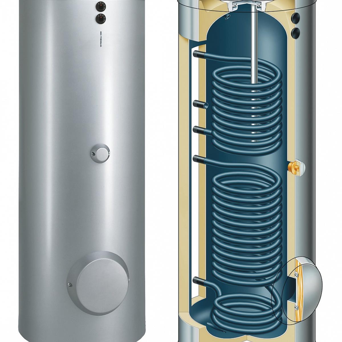 Бойлер с двумя теплообменниками фото недостатки механической очистки теплообменников